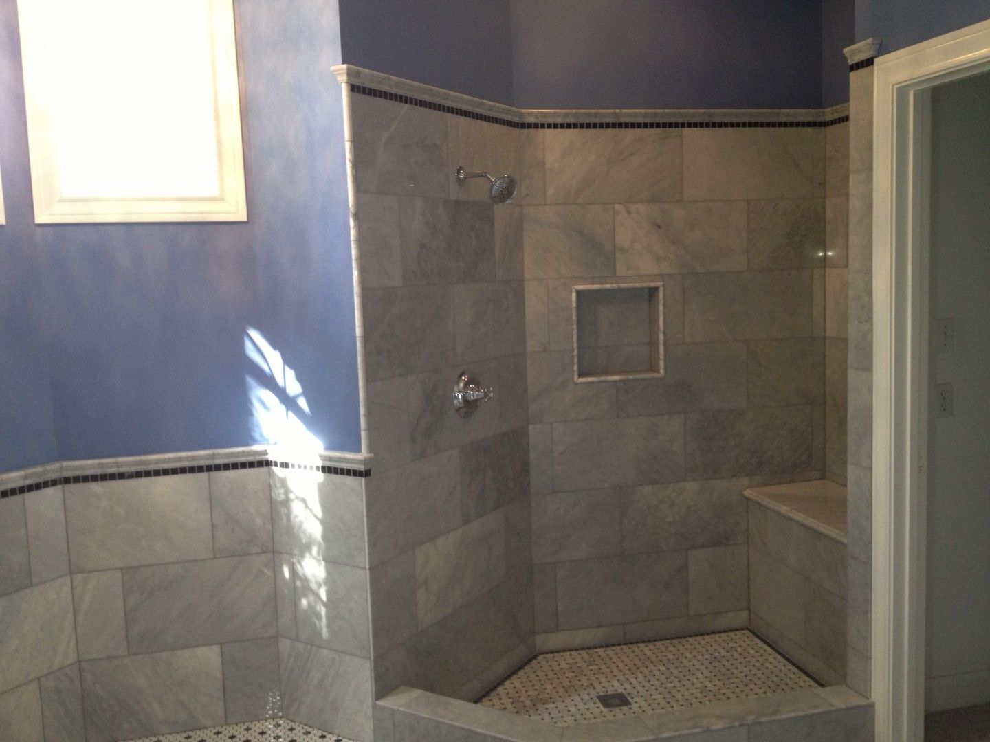 Victorian Marble Shower  Bathroom Remodel  Pinterest  Carrara Custom Austin Tx Bathroom Remodeling Design Inspiration