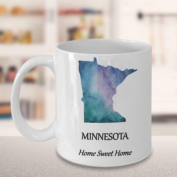 Lovely Minnesota State Coffee Mug Home Sweet Home Choose Your