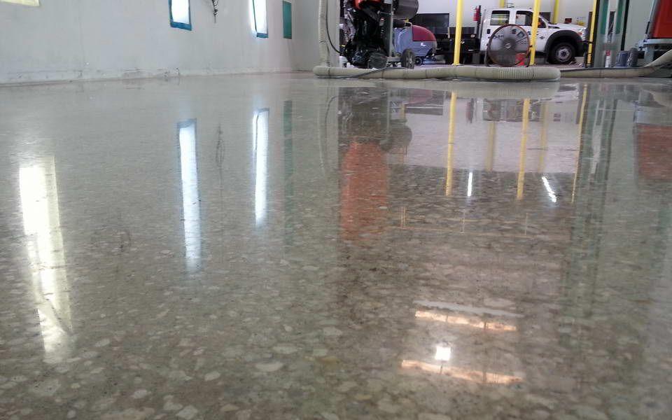 1500 Grit Concrete Polishing Demo | Polished Concrete | Concrete