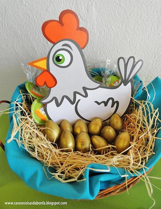 Jack and the Beanstalk 1st Birthday Party | El huevo, Gallinas y De oro