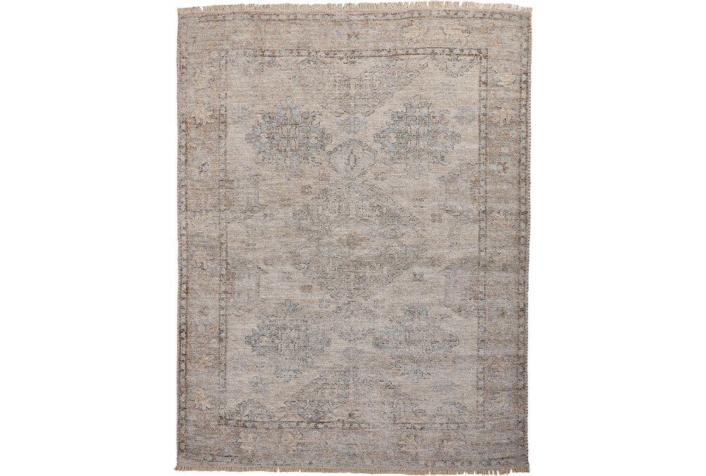 120x168 Rug Faded Traditional Stone Living Spaces In 2020 Rugs Living Rugs Natural Rug