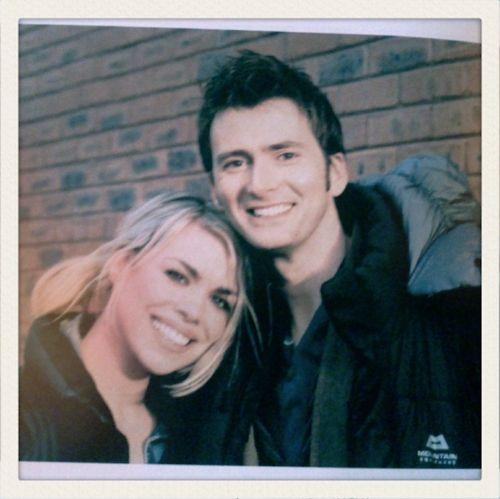 David Tennant and Billie Piper Dating   David & Billie - billie-piper-and-david-tennant Photo