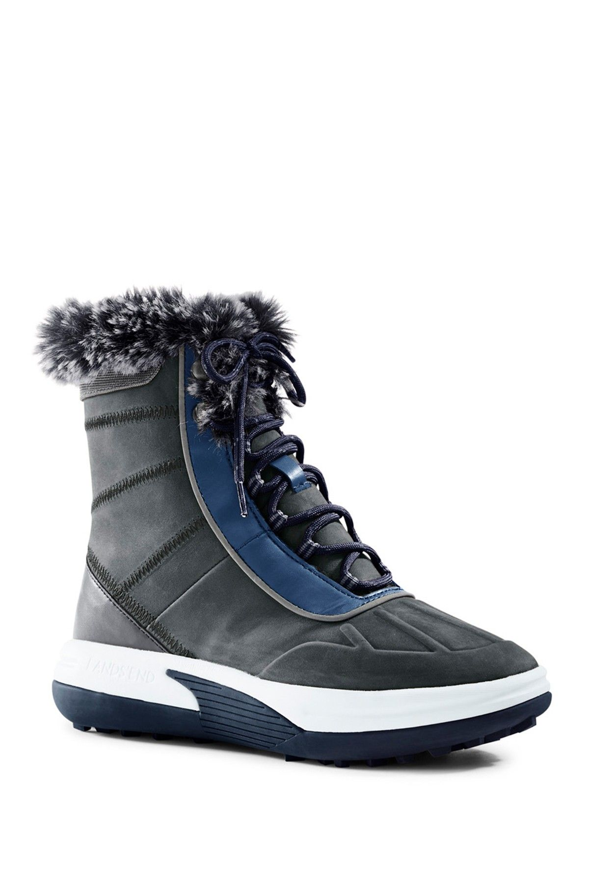 Chill Action Faux Fur Lined Boot by Canvas by Lands' End on @HauteLook