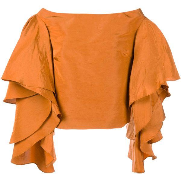 1448172106080 Rosie Assoulin Bidi Bidi Bom Bom Off-Shoulder Top ( 1