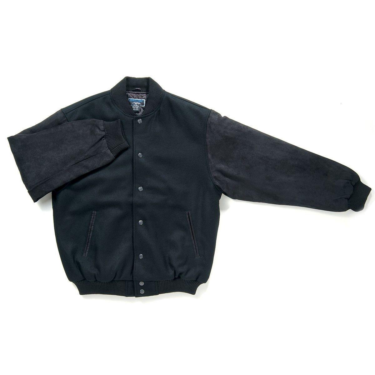 Code: J501 Name: Kosciusko Jacket J501 Size: 2XL|3XL|4XL|L|M|S|XL|XS Available Colours: Black,Black|Black,Tan|Navy,Navy|Navy,Tan Description: The contrast suede