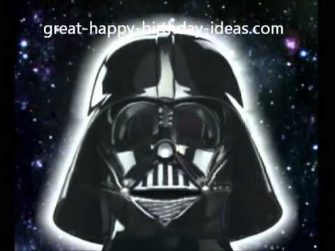 Darth Vader Sings Happy Birthday To You Happy Birthday Song