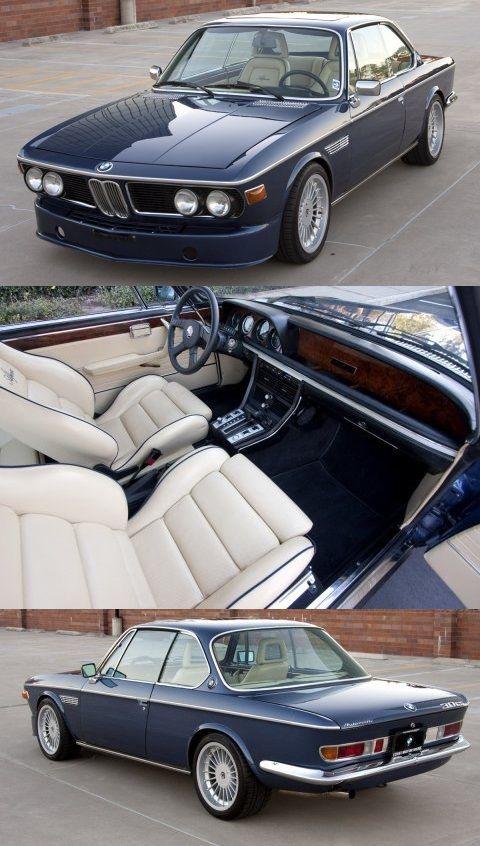 1973 Bmw 3 0cs Hot Rod Bmw Vintage Bmw Classic Cars Bmw