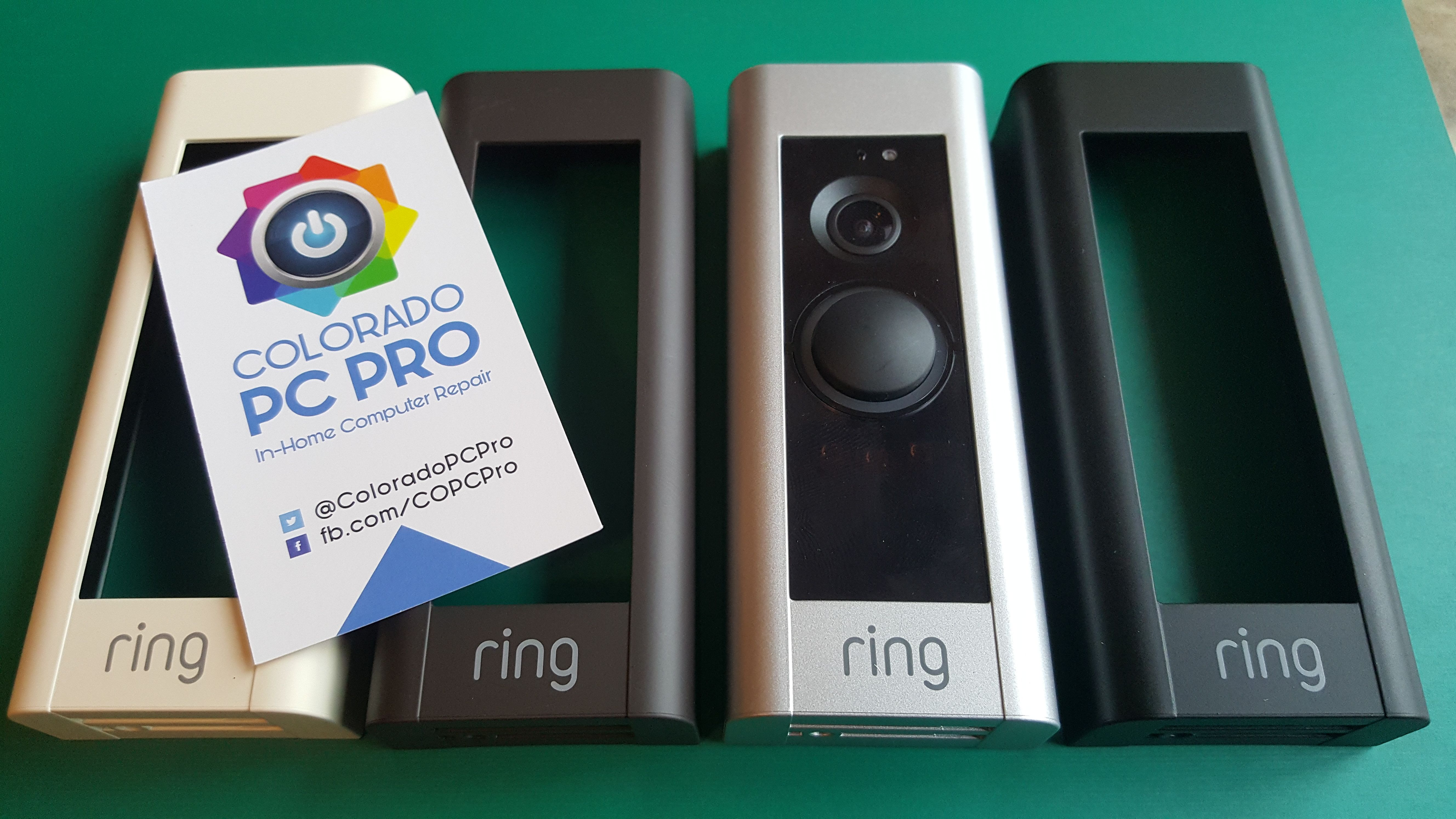 Ring Video Doorbell Pro Installed By Colorado Pc Pro In Colorado Springs Fountain Monument Pueblo Falcon And Pe Ring Video Doorbell Video Doorbell Doorbell
