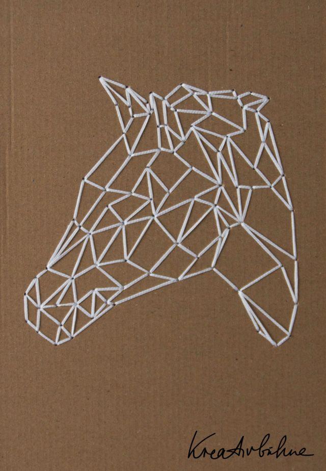 Wanddeko Selber Machen: Die Tierkopf Trilogie (inkl. Vorlagen)   DIY Blog