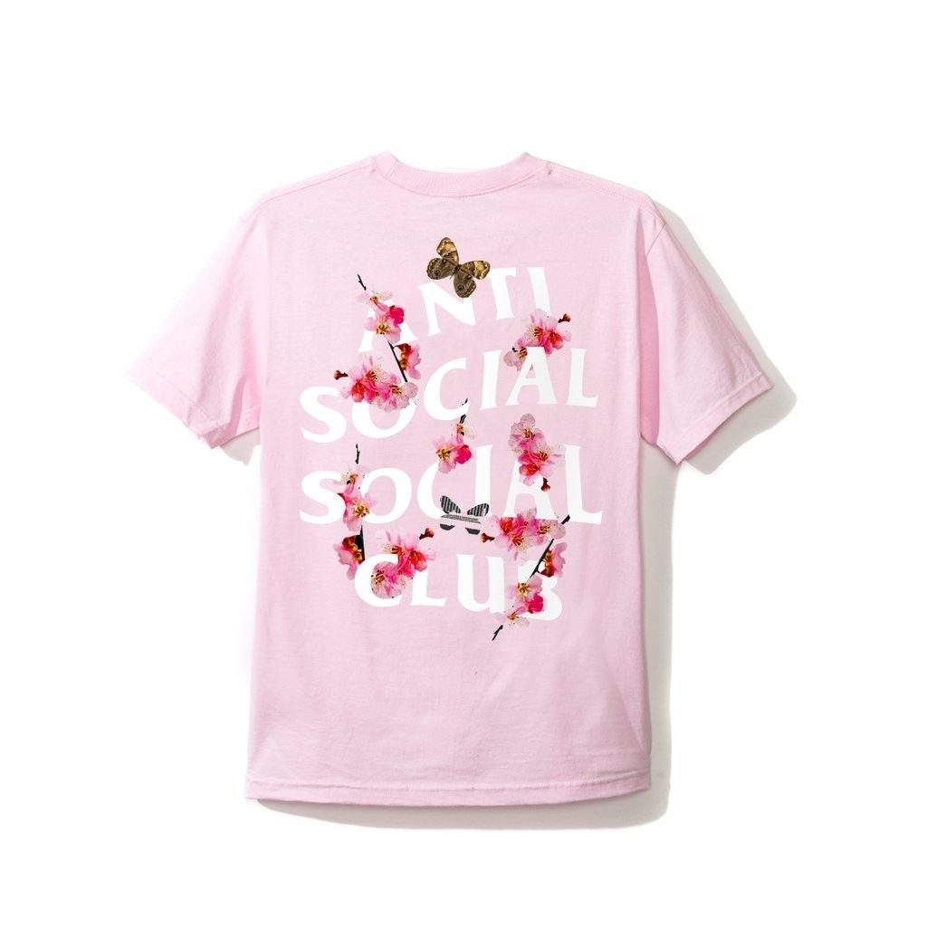 100% Authentic Anti Social Social Club Cherry Blossom Sakura