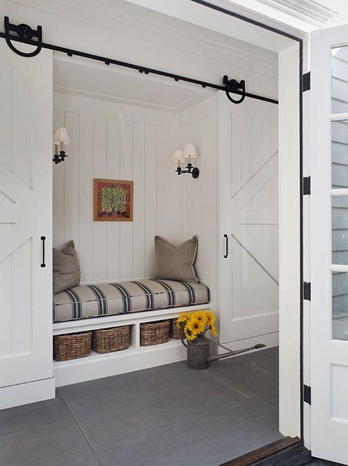 barn house interior design trends interior design ideas barn door small upholstered bench best