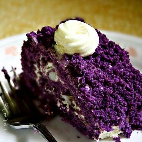 Purple Velvet Cake Recipe