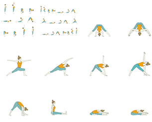 45 Minute Yoga Sequences - Foundational Sequences for Yoga