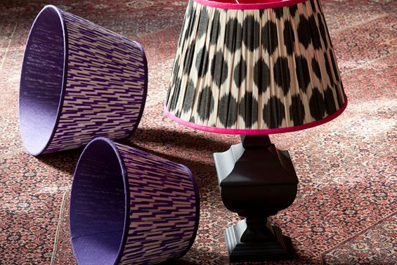 Melodi Horne Lampshades Notting Hill