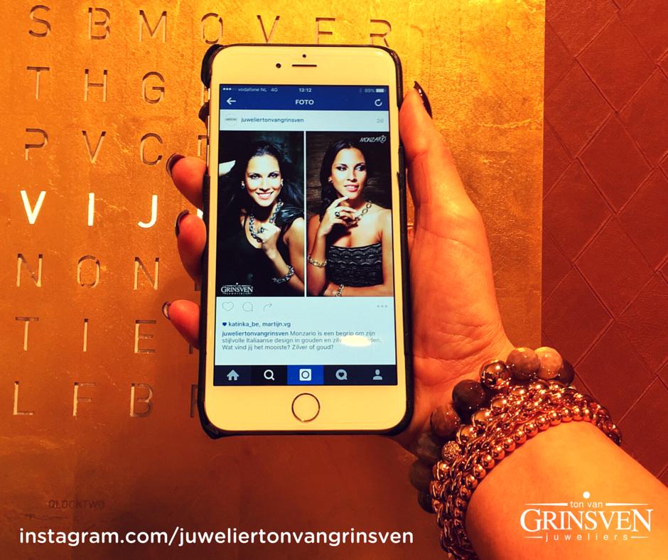 Wil je ook via je andere favoriete platform op de hoogte blijven? Check ons Instagram account en volg ons daar ook! https://www.instagram.com/juweliertonvangrinsven/
