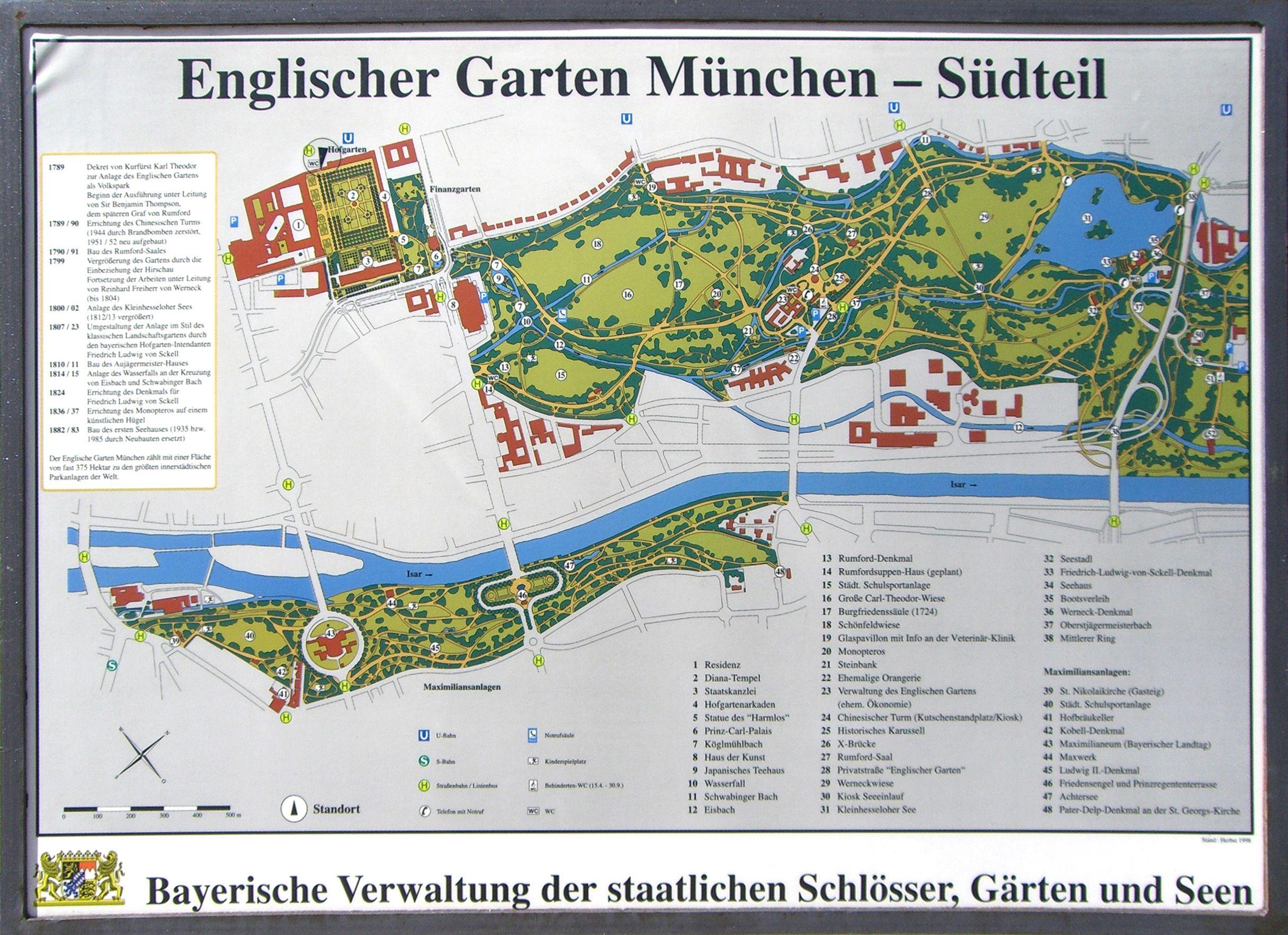 Fabulous Munich Englischer Garten
