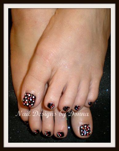 Polka Dot Toes By Nailsbydonna Nail Art Gallery Nailartgallery