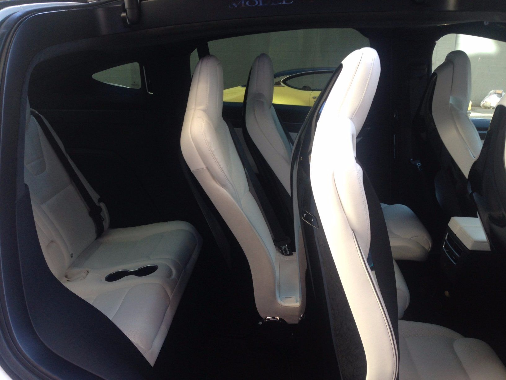 Tesla Model Y Pictures Interior Third Row