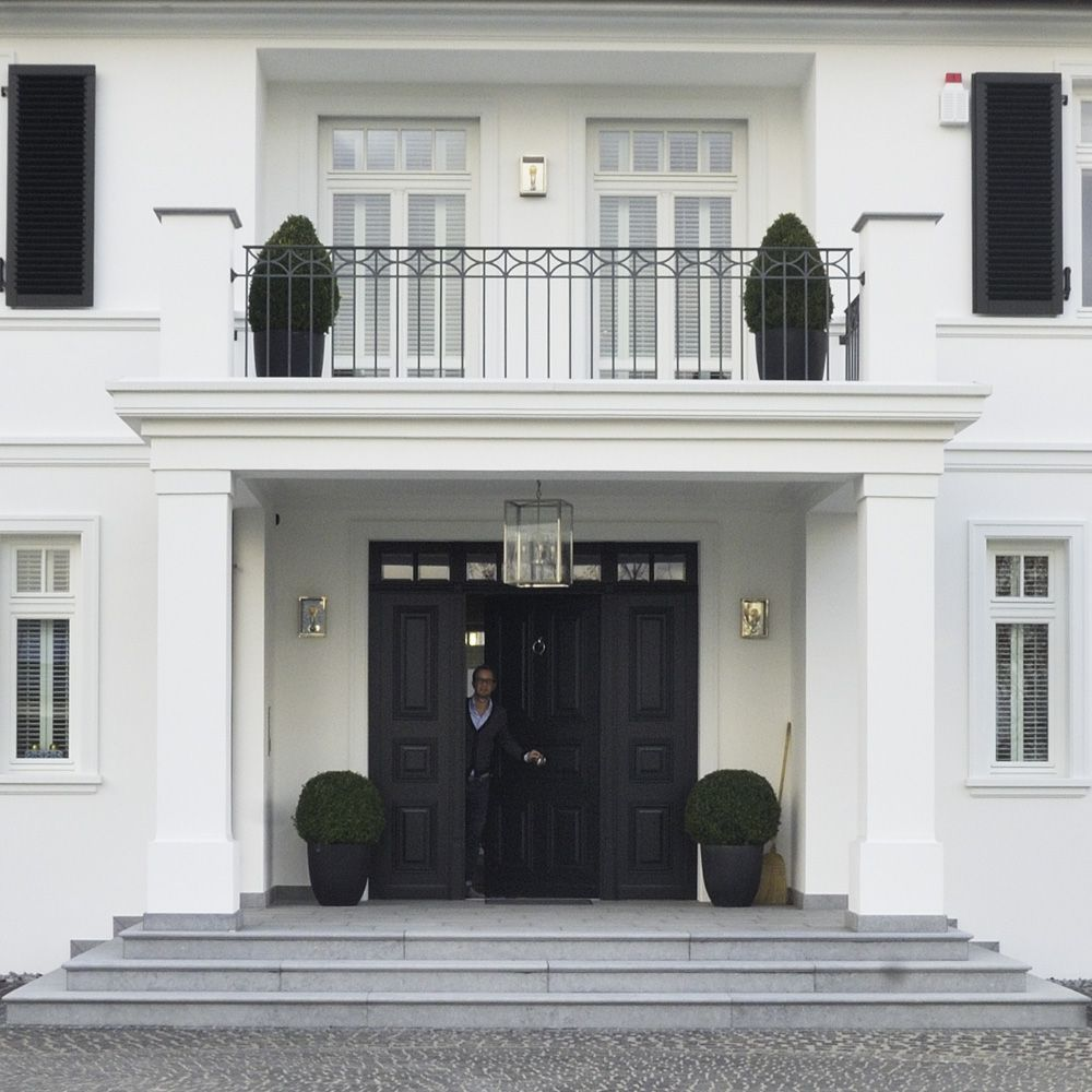 Front Home Entrance For German House Architecture: Exterior Design