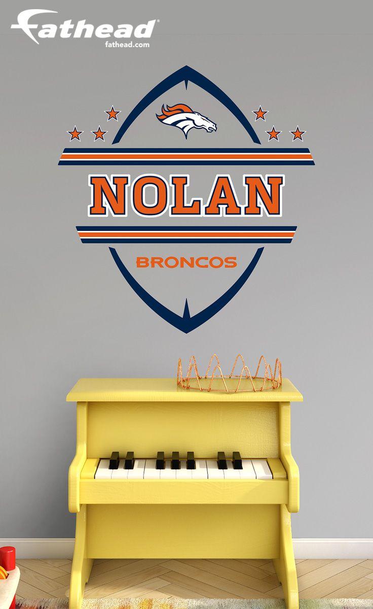 Denver Broncos Personalized Name | Denver broncos logo, Broncos logo ...