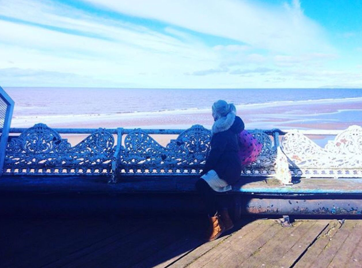 The adventure continues #blogger #healer #lightworker #love #truth #plantbased #starseed #aura #awareness #artist #crystals #compassion #conciousness #empath #energy #sea #beach #blackpool #pier #travelblogger #adventure #healthblogger #intuition #psychedelic
