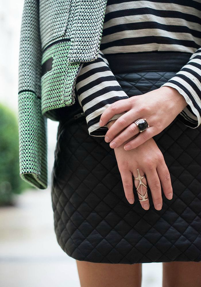 The Quilted Skirt