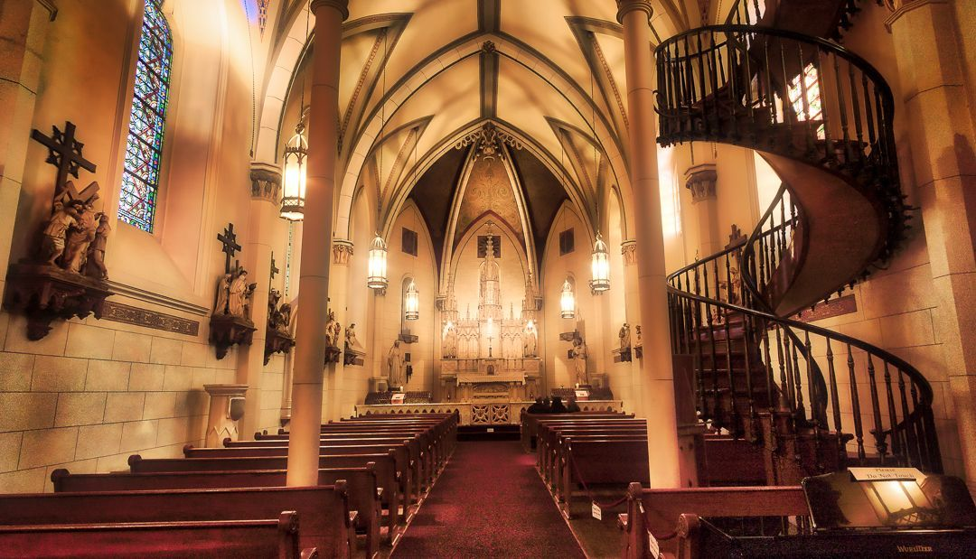 Best The Legend Of Loretto Chapel On The Final Day Of The 640 x 480