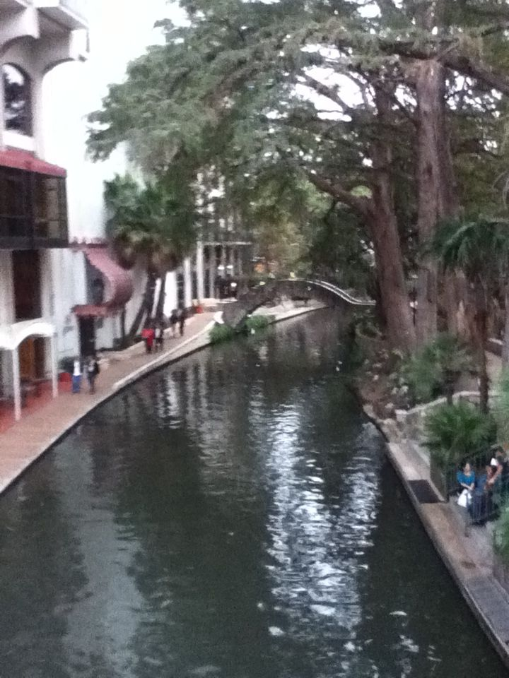 This is the San Antonio river in Texas!!:)