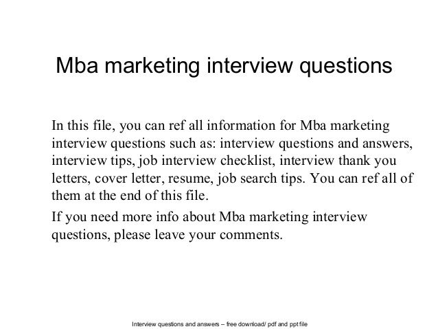 mba marketing questions Try Pinterest Question paper and Blog