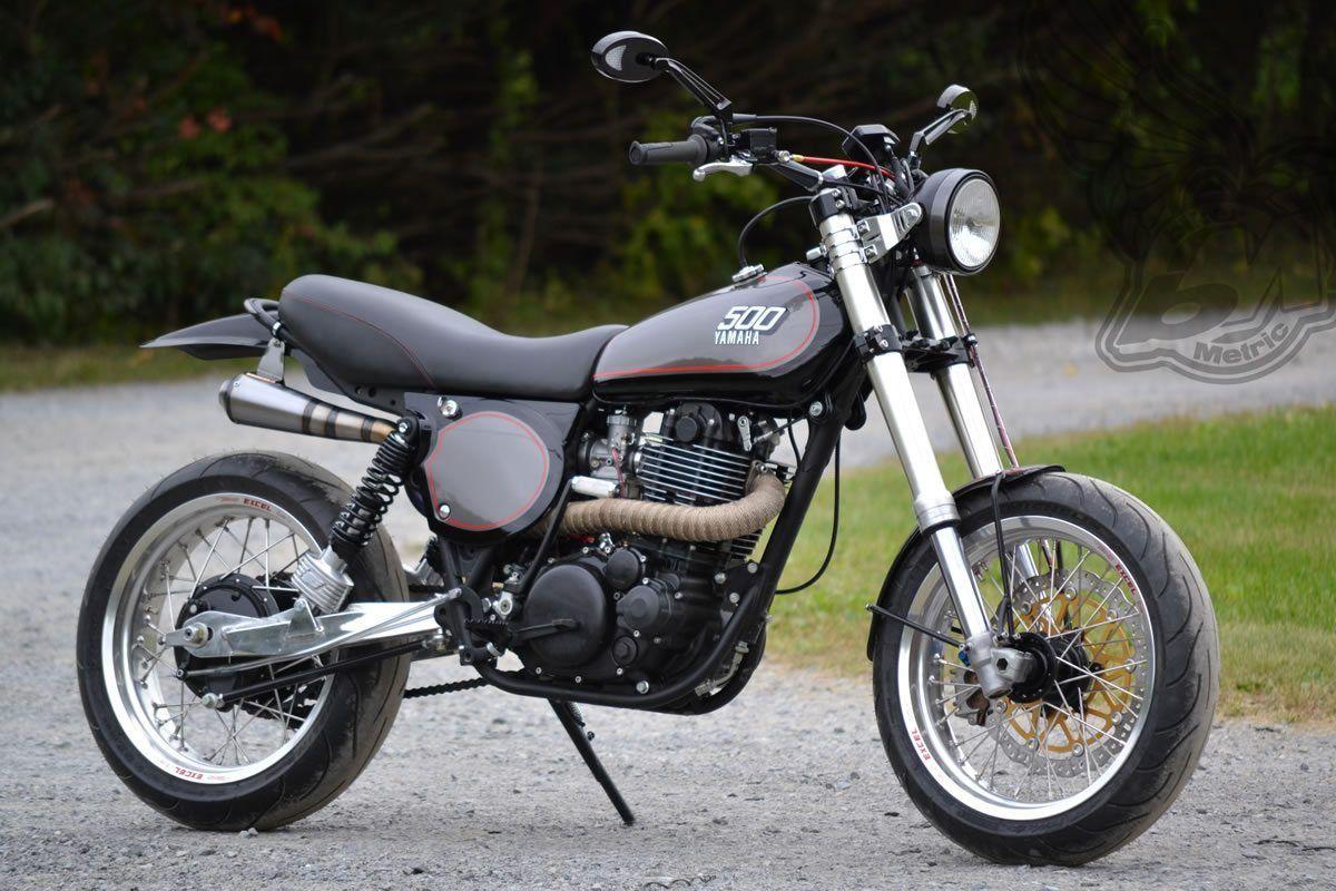 Yamaha xt500 retro supermoto tracker motorcycles for Yamaha xt500 motorcycle