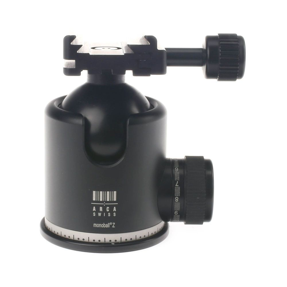 Arca Swiss Monoball Z1 W Quick Set Ball Head Plate Not Included Vanguard Veo 2 235ab Aluminum Tripod With Red 801103