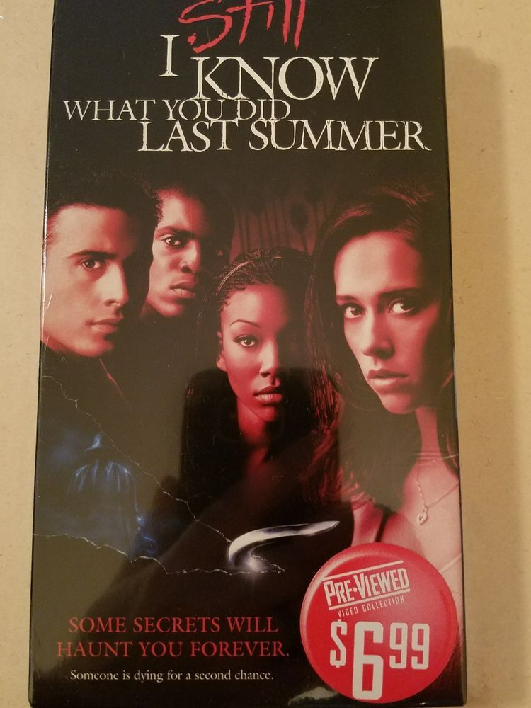 I Still Know What You Did Last Summer Vhs Used Vhs Dvds Movies Summer