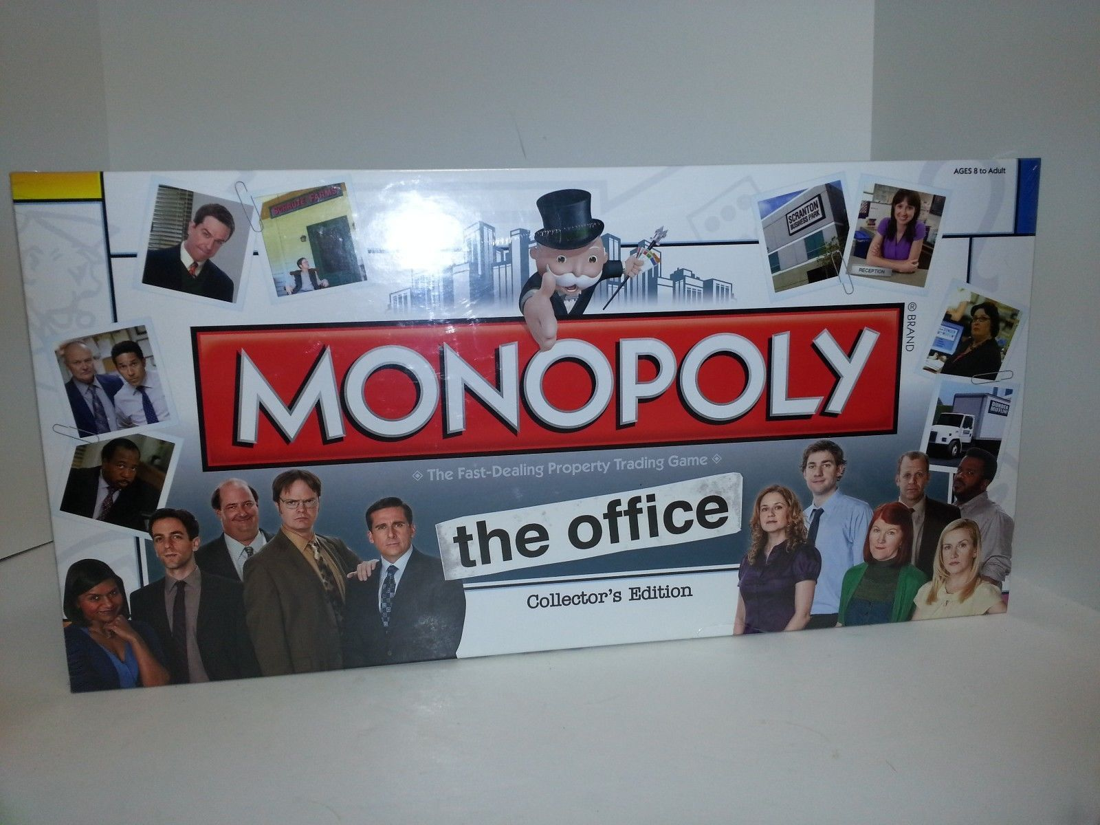 Monopoly The Office Collectors Edition Plus 6 Collectible Tokens Retired New 1970 Now