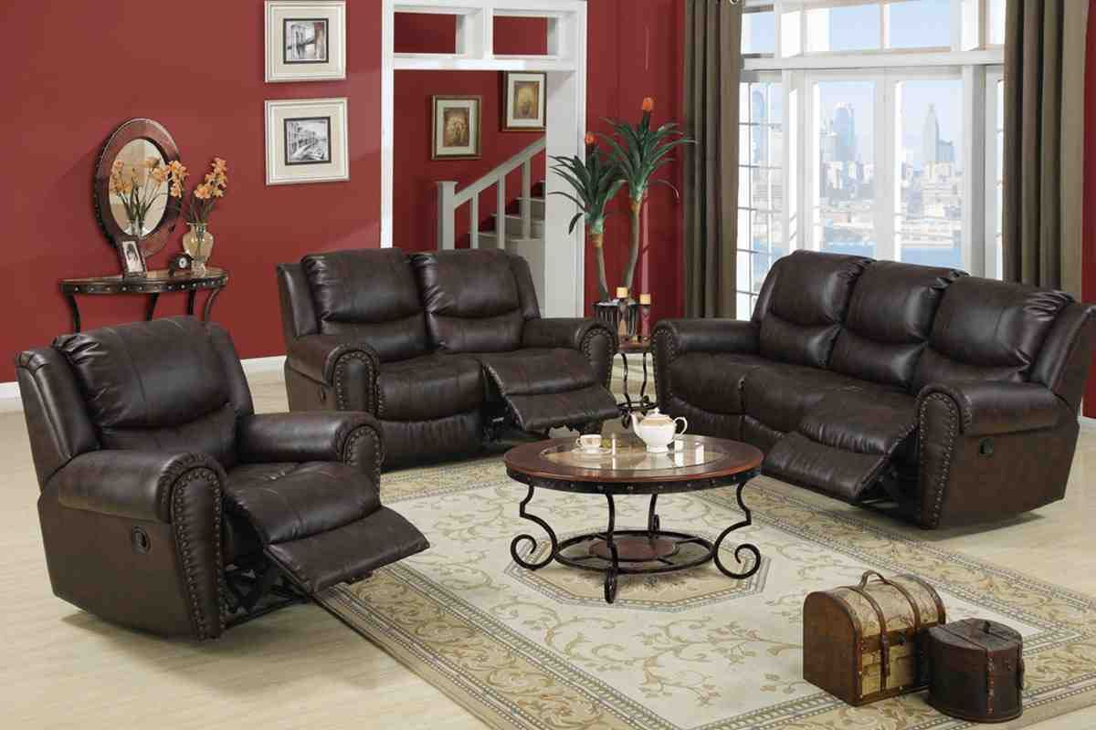 Leather Reclining Living Room Sets Quality Living Room Furniture Leather Living Room Set 3 Piece Living Room Set #reclining #3 #piece #living #room #set