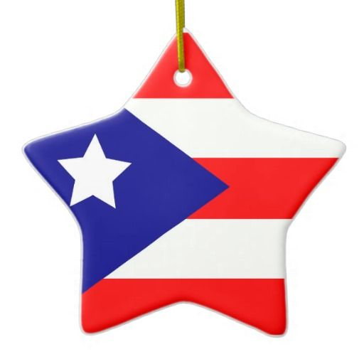 Puerto Rico Christmas 2020 Puerto Rico Pride Ceramic Ornament | Zazzle.in 2020 | Puerto
