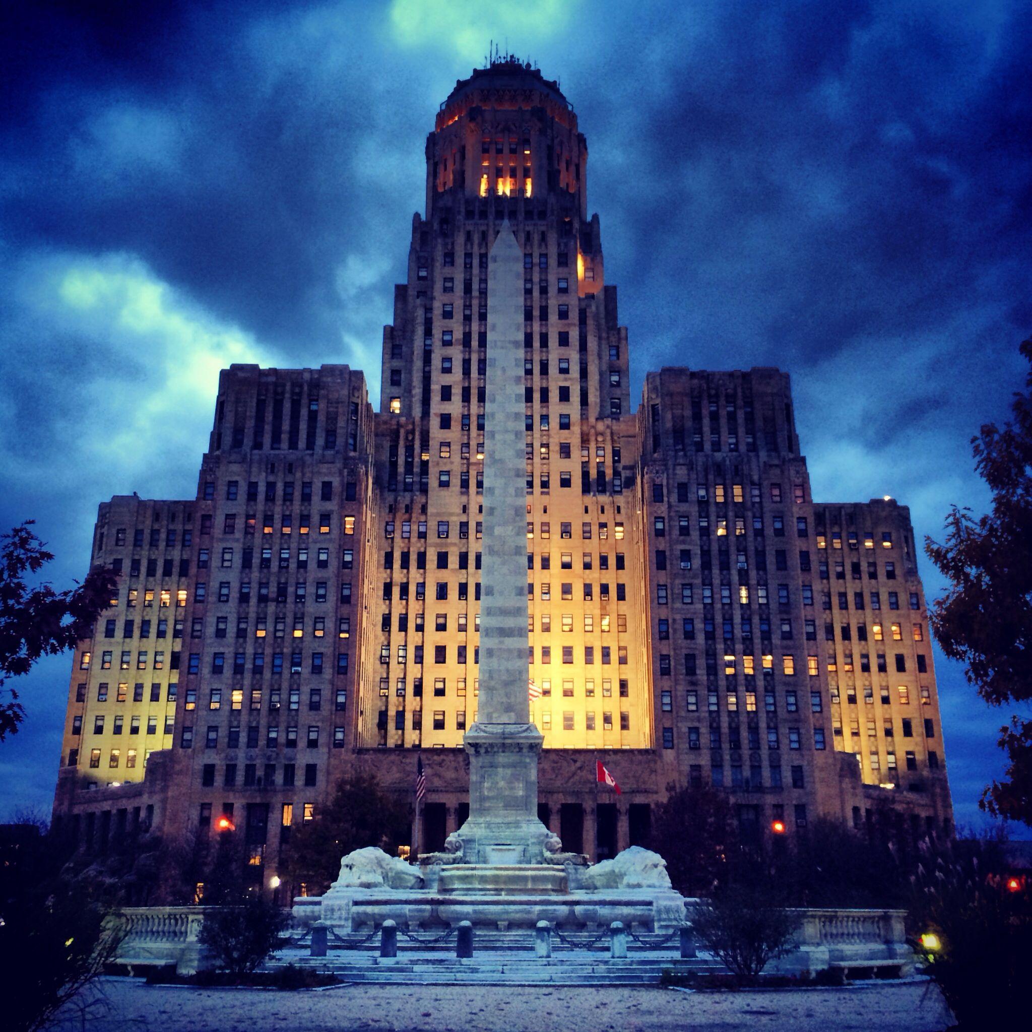Buffalo Ny Art Deco City Hall