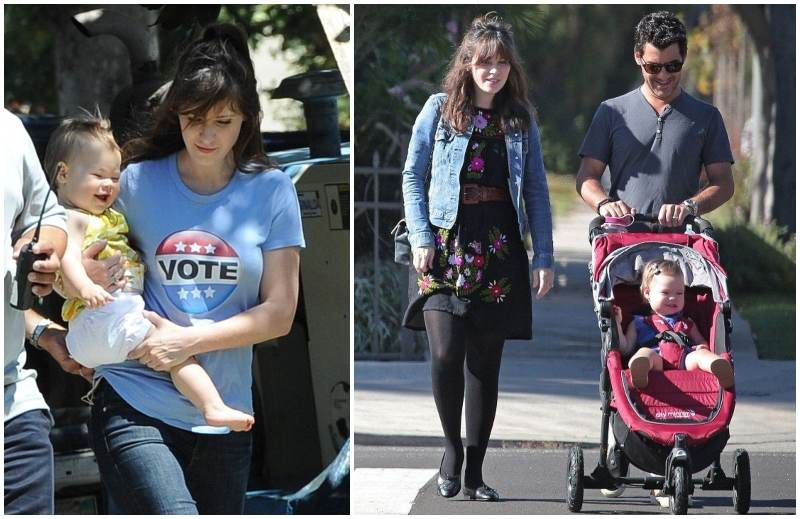 new girl actress zooey deschanel and her family life