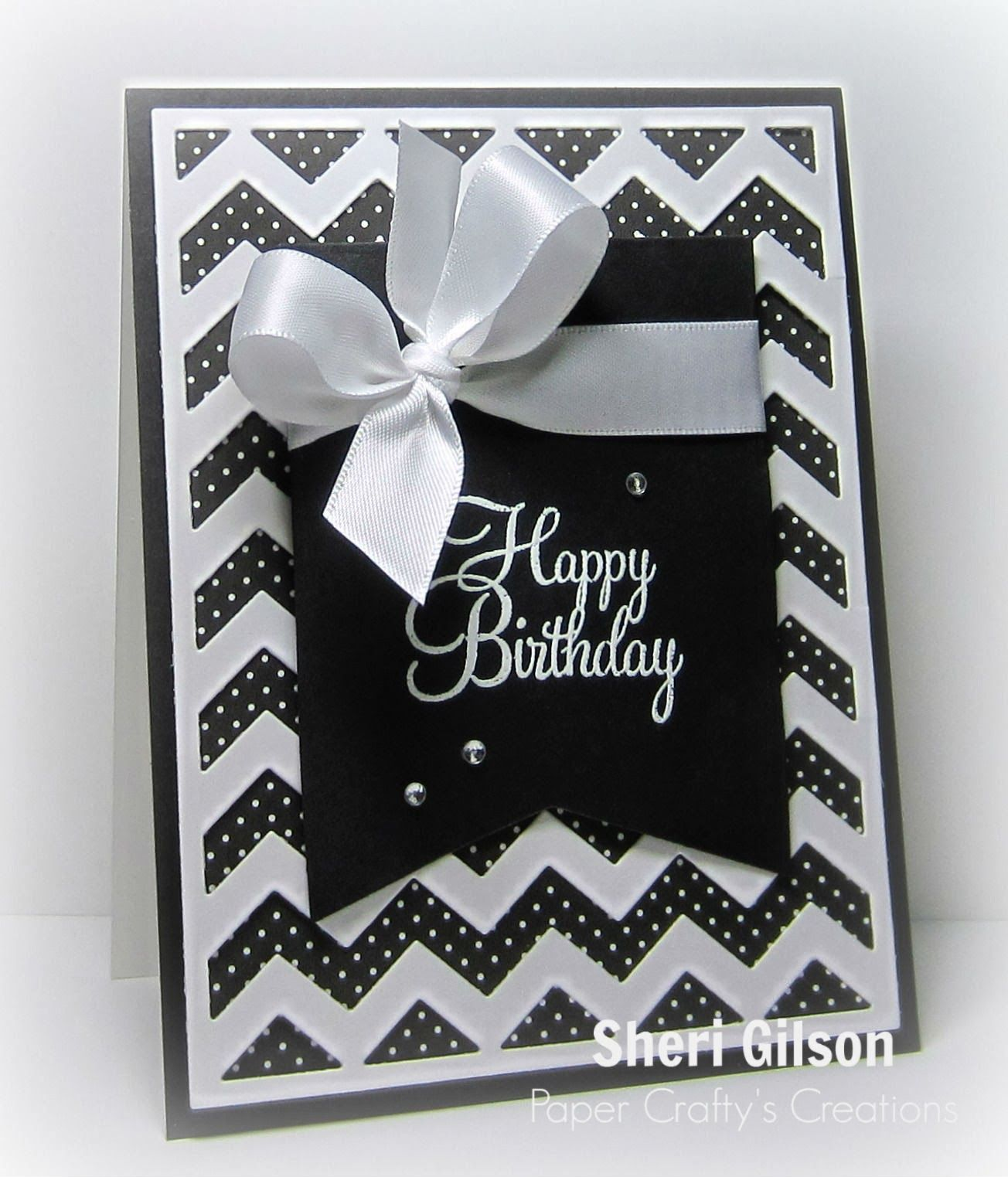Paper Crafty S Creations Simple Cards Handmade Birthday Cards Birthday Cards