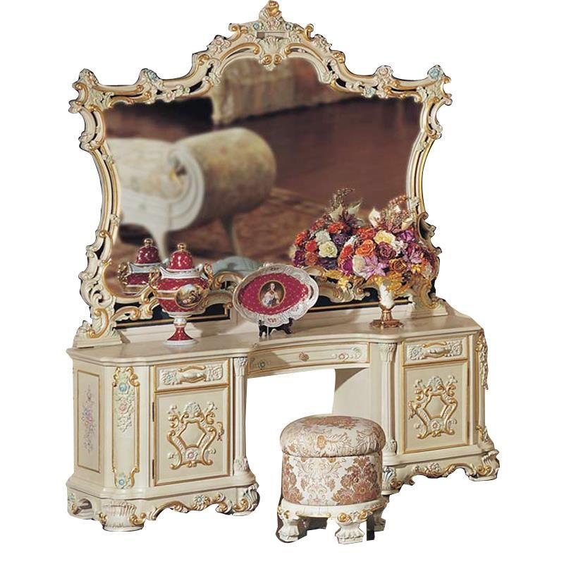 2015 Barock Luxus Make Up Spiegelkommode Spiegel Europaischer Klassischen Holz Geschnitzt Frisiertisch Schla Spiegelkommode Holz Schnitzen Schminktisch Spiegel