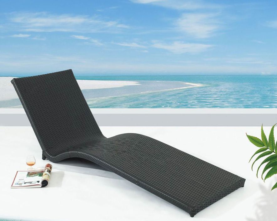 Resort Sun Lounge   Outdoor Stackable Pool Furniture   United House  Furniture