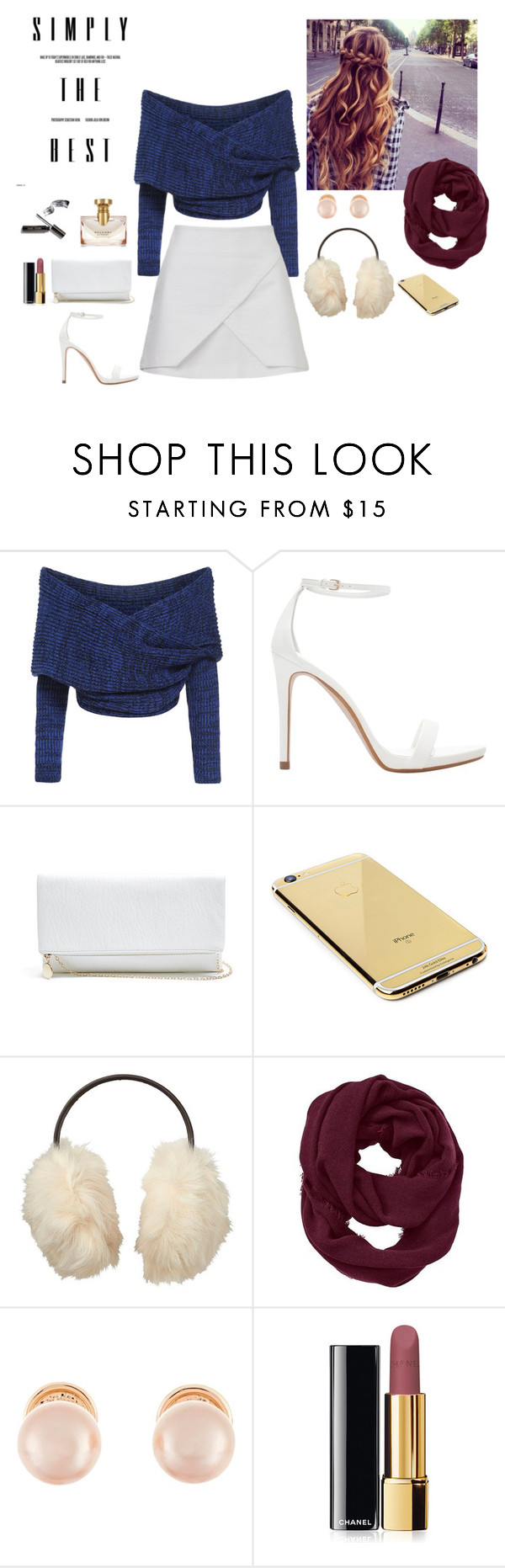 """""""Untitled #24"""" by lysndrsp on Polyvore featuring Zara, GUESS, Goldgenie, Uniqlo, Athleta, Kenneth Jay Lane, Chanel and Bulgari"""