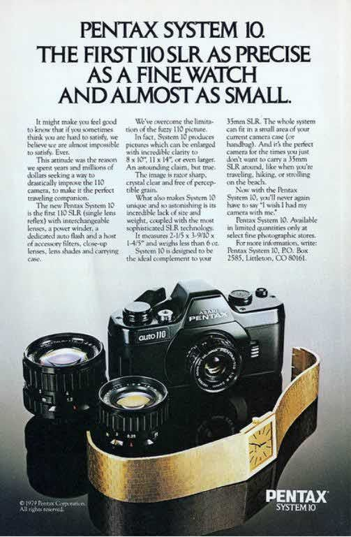 Vintage Camera Ads Part II: The Single Lens Reflex Cameras ...