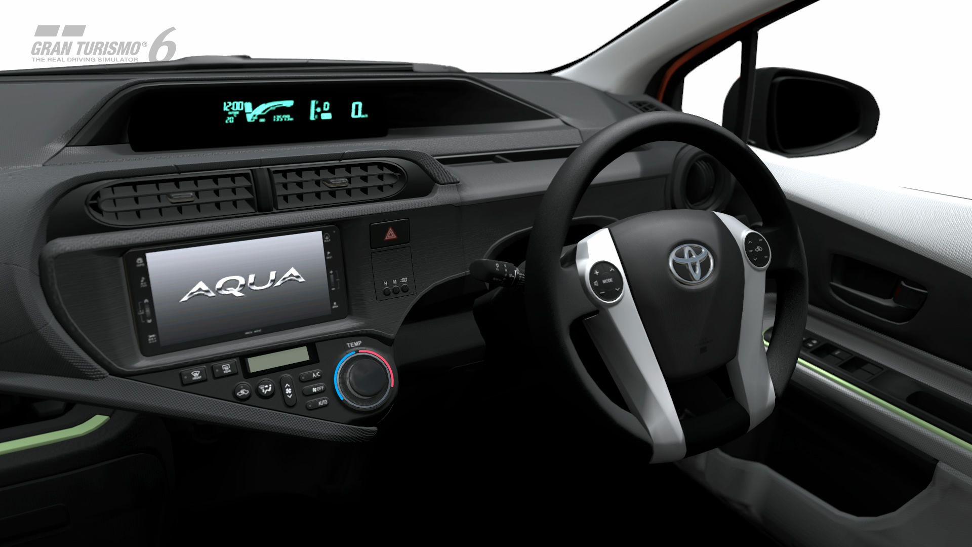 Toyota Aqua S Interior Gt6 Toyota Aqua Aqua Toyota Steering