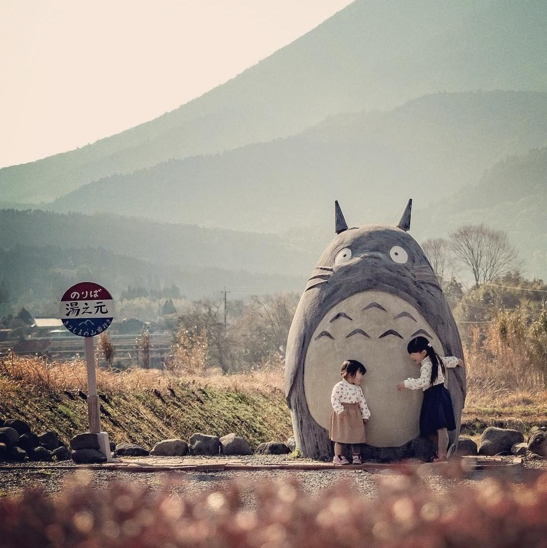 This Totoro Statue In Miyagi Prefecture Reminds Us Of The