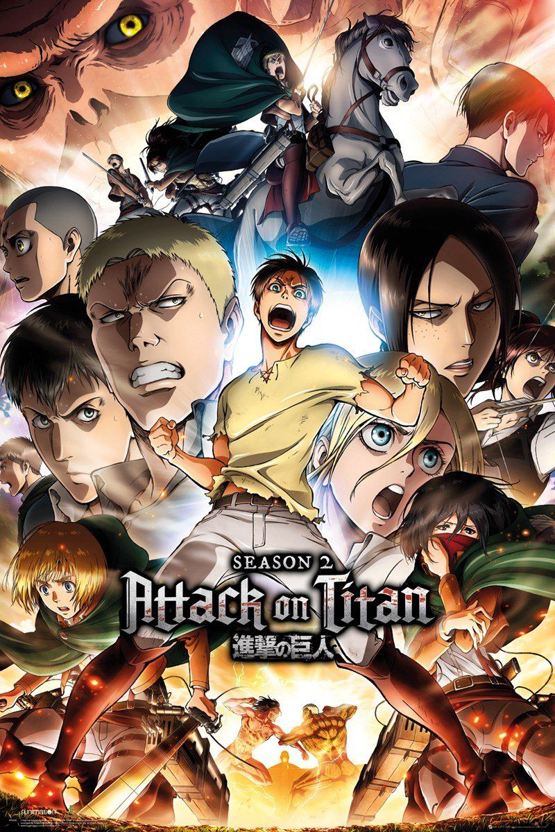 Attack on Titan Season 2 Poster >Attack on titan