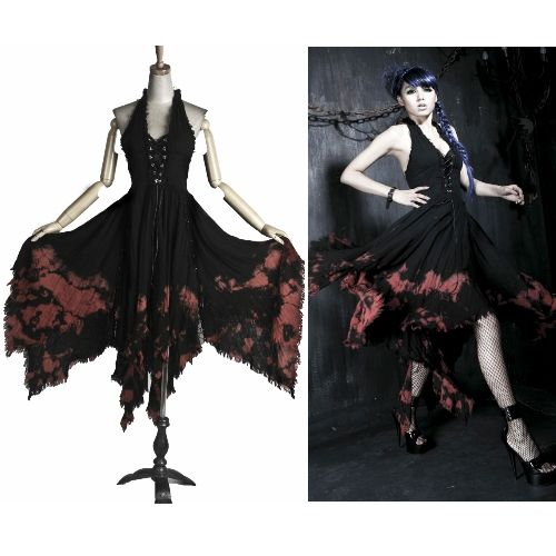Sexy Black Halter Gothic Burlesque Marilyn Monroe Cocktail Party Dresses SKU-11402156