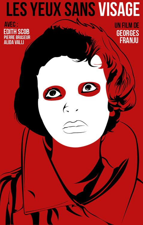 Les Yeux Sans Visage Georges Franju Eyes Without A Face Vintage Horror Alternative Movie Posters