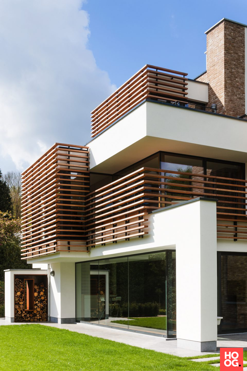 Exclusieve villabouw met zwembad archivio progetti nel for Architettura moderna case