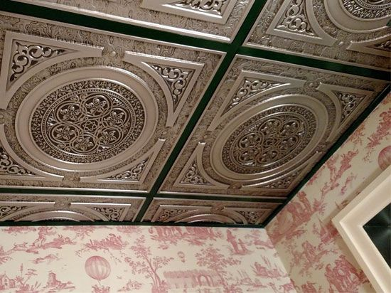 Quot Steampunk Quot Faux Tin Ceiling Tile 24 X24 Not Sure But