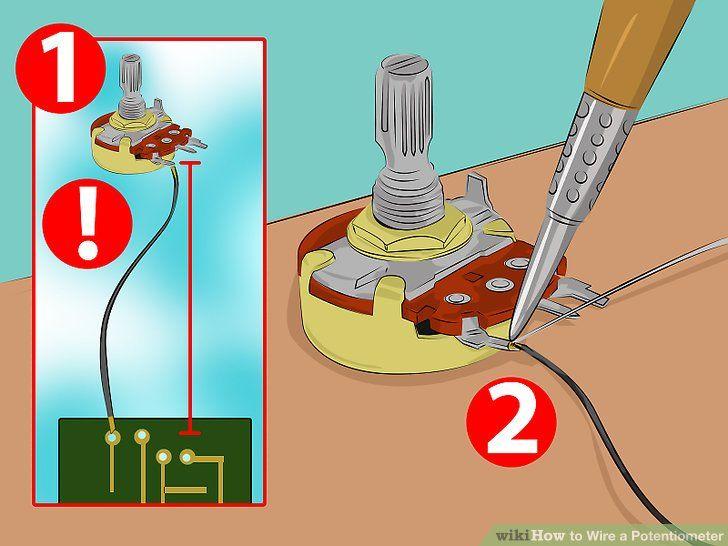 3 pin potentiometer pinout - Cerca con Google | Circuit
